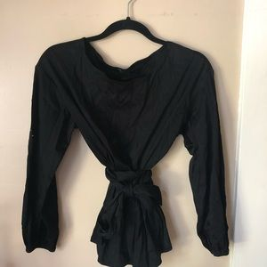 Ann Taylor tunic top with tie